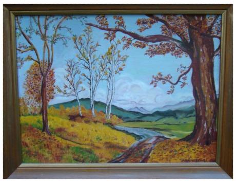 Nanas painting