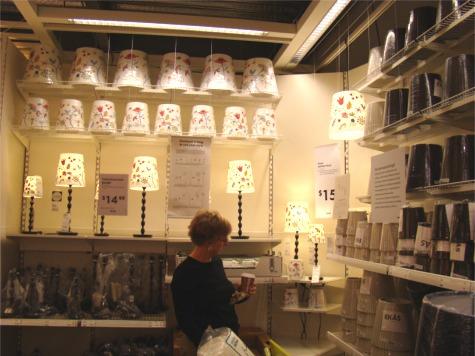 IKEA lampshade conundrum