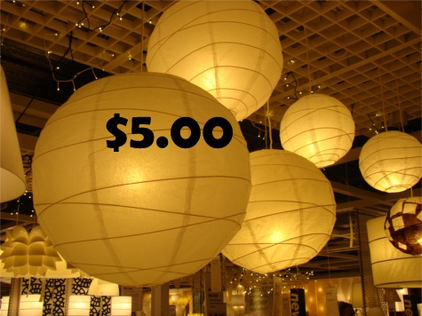 IKEA ball lamps