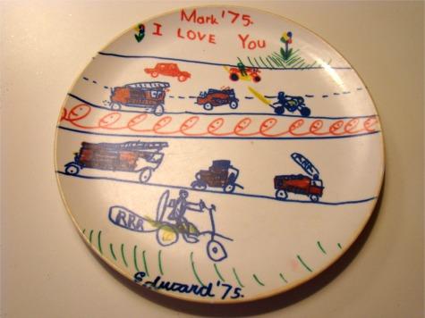 Mark plate 1