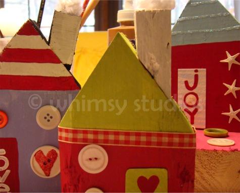 Houses peek