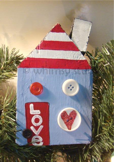 Love stripe house