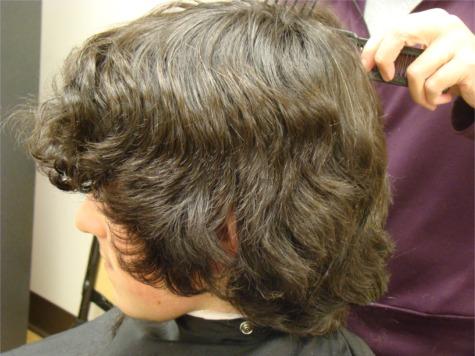 R hair before