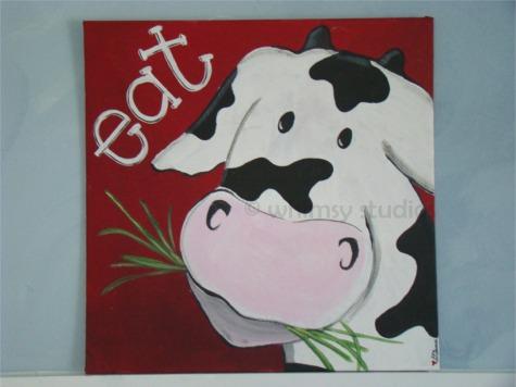 Eat cow