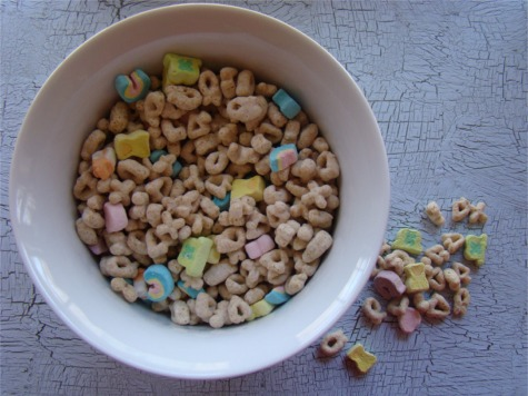 St pats lucky charms