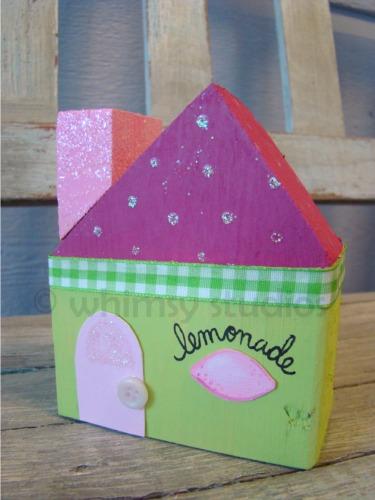 Summer lemonade house