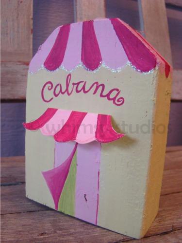 Summer cabana house