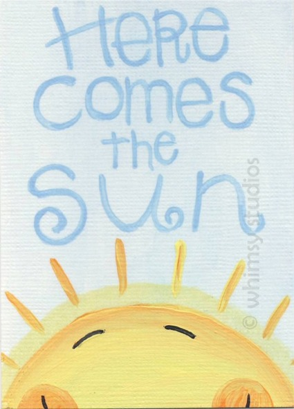Here comes the sun 2009