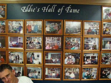Eddies wall