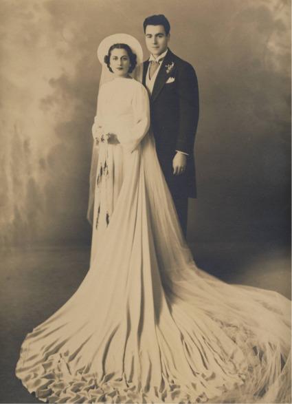 Nana and pop wedding