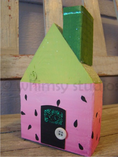 Summer watermelon house