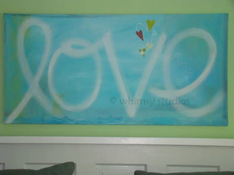 Love canvas