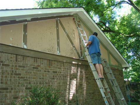 House paint prep