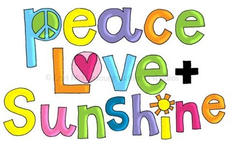Peace love sun fp
