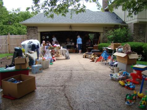 Garage sale garage