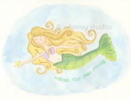 Mermaid embraced