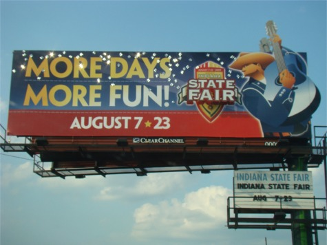 State fair billboard