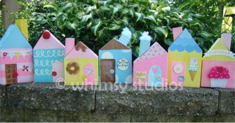 Cupcake village houses