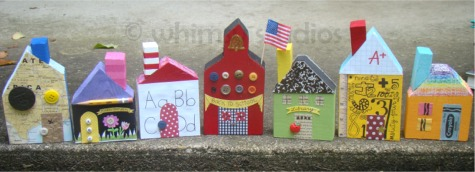 School village set