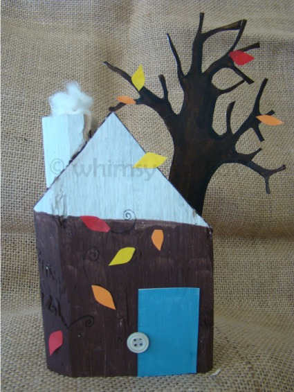 Fall tree house