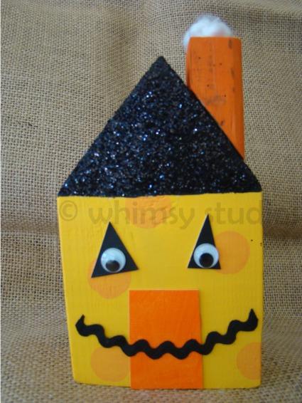 Halloween jack o lntrn house