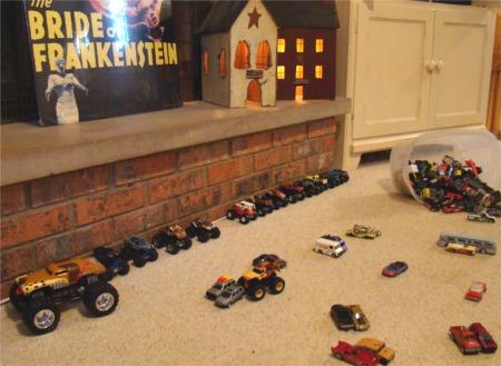 Cars on the floor