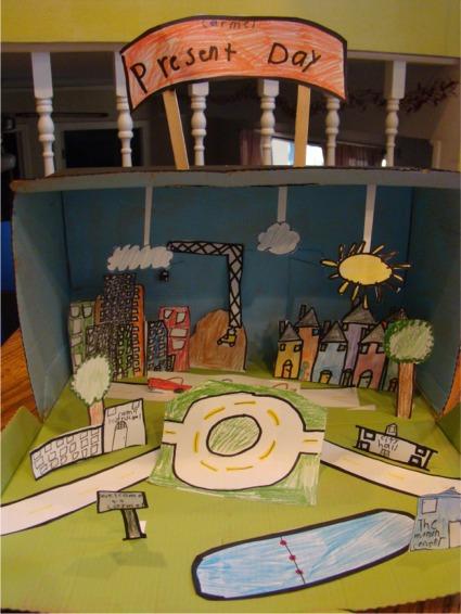 Diorama present