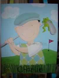Charlie golfer