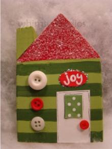 Christmas vlg joy stripe