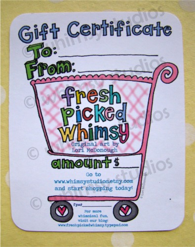 Fpw gift certificate photo