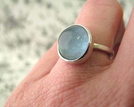 Blue aqua ring