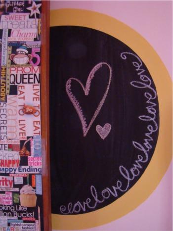 K chalkboard
