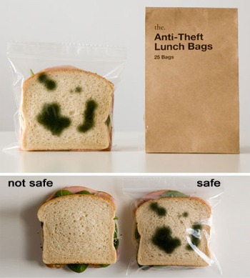 Kids safe lunch bags