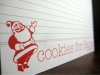 Erin santa recipe cards
