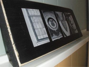 Jeannine love plaque