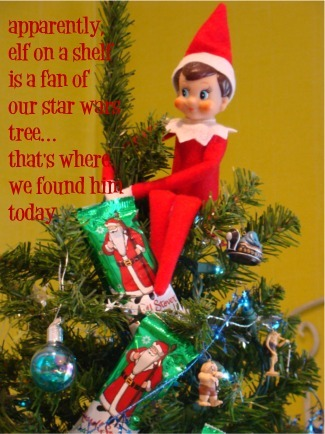 Elf in the tree