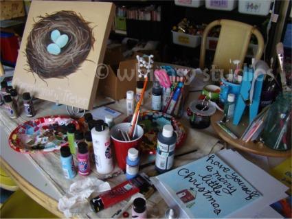 Studio work