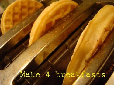 4 breakfasts