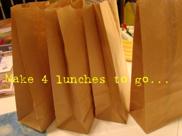 4 lunches