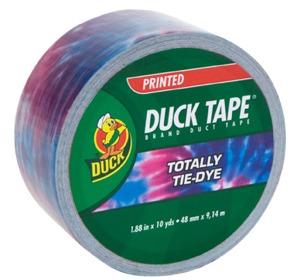 Duct tapeTie-dye