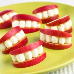 Kids apple smiles