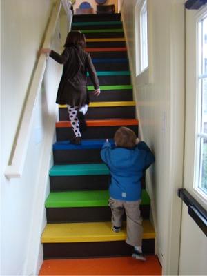 Frannie stairs