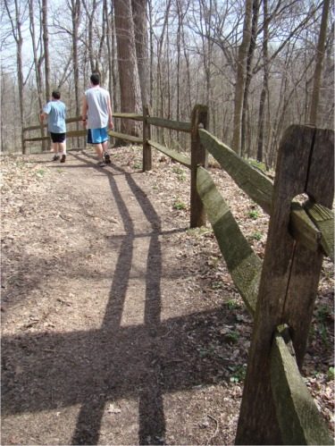 Letterboxing trail