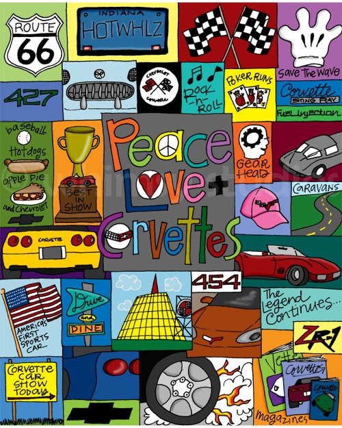 Corvette collage SCICC
