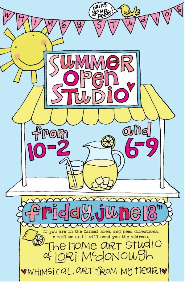 Summer open studio 2010 no add