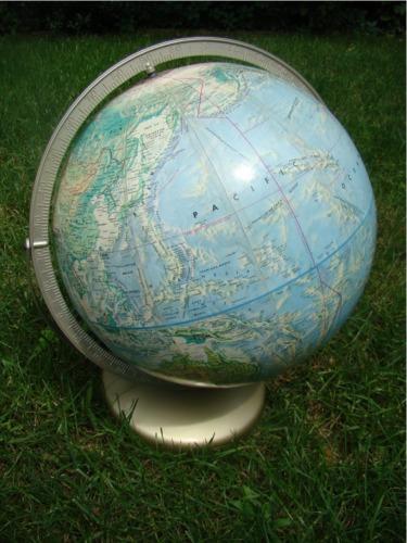 Flea market globe