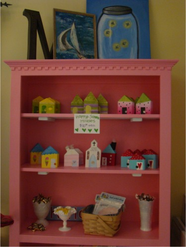 Summer os pink shelves