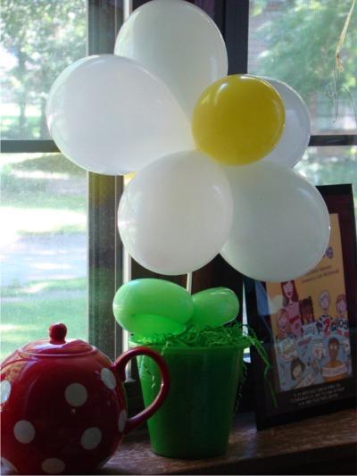 Summer os balloon daisy