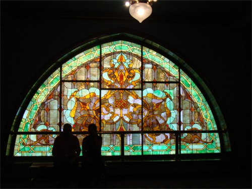 Dad murat glass window