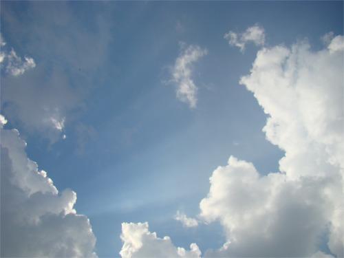 July 4th clouds